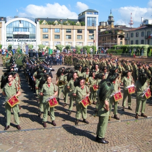 Fanfara dei Bersaglieri Nino Tramonti Mario Crosta Lonate Pozzolo a Varese