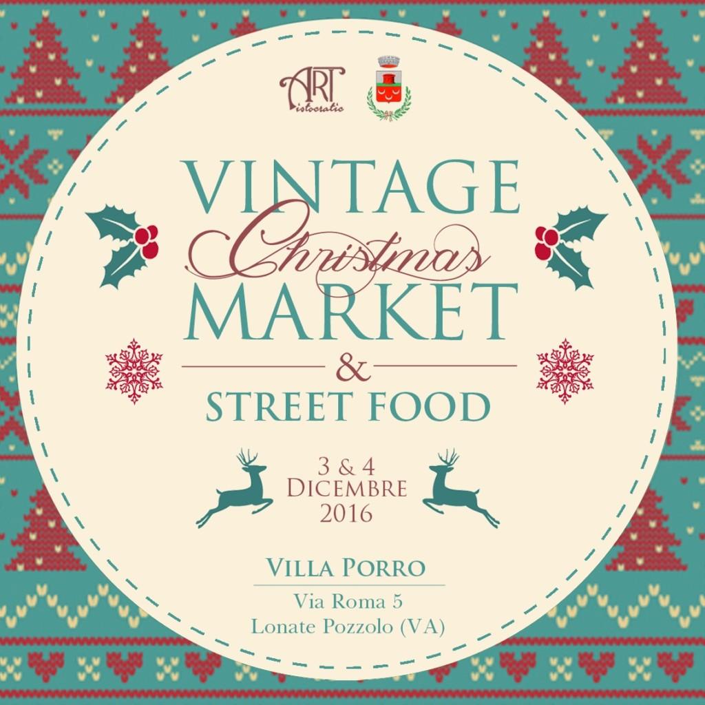 Vintage Christmas Market e Street Food Natalizio