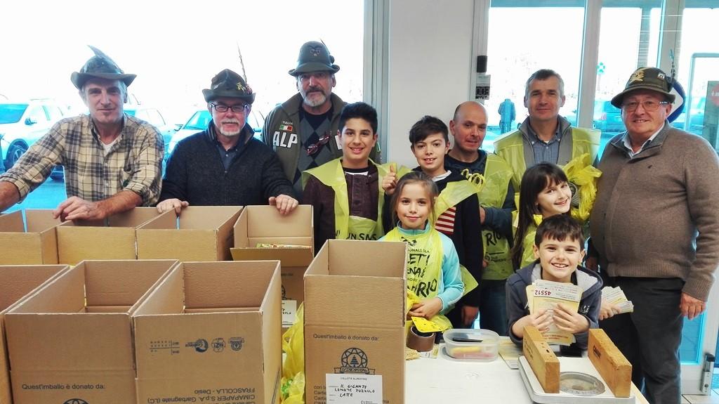 Gruppo Alpini Lonate Pozzolo - Banco Alimentare 26/11/2016